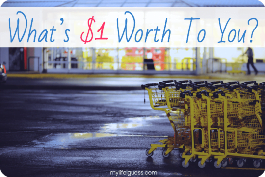 What's $1 Worth to You? - My Life, I Guess
