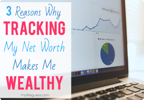 3 Reasons Why Tracking My Net Worth Makes Me Wealthy - My Life, I Guess...