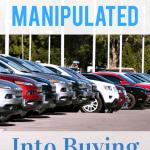 buying a new car at the car lot