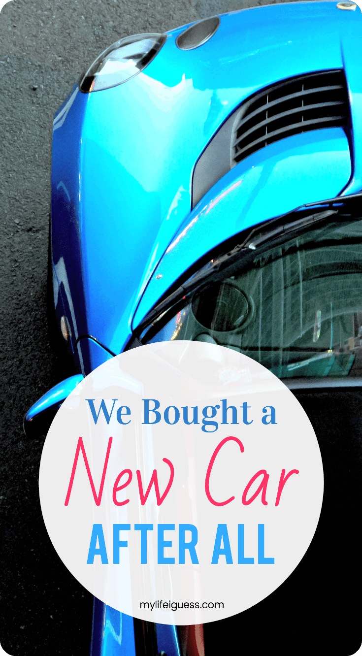 We Bought a New Car, After All #newcar #carloan
