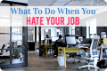What To Do When You Hate Your Job - My Life, I Guess