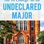 Why It's A Mistake To Go To College As An Undeclared Major - My Life, I Guess