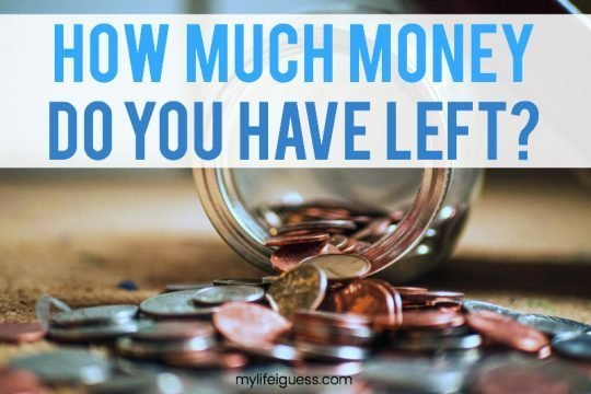 How Much Money Do You Have Left?