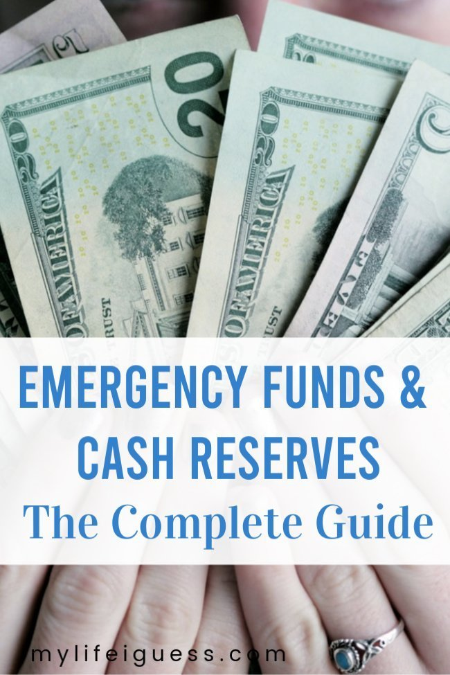 "Emergency Funds and Cash Reserves - The Complete Guide  Emergency funds, also called a ""rainy day fund"" or ""cash reserves,"" is money that you have access to in case of an unplanned sudden need.  emergency fund, money, job loss, debt, manage your money"