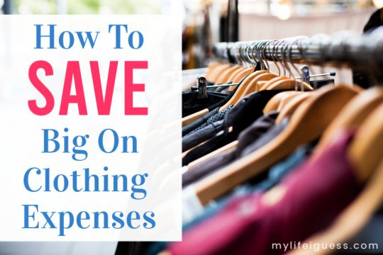 How To Save Big on Clothing Expenses