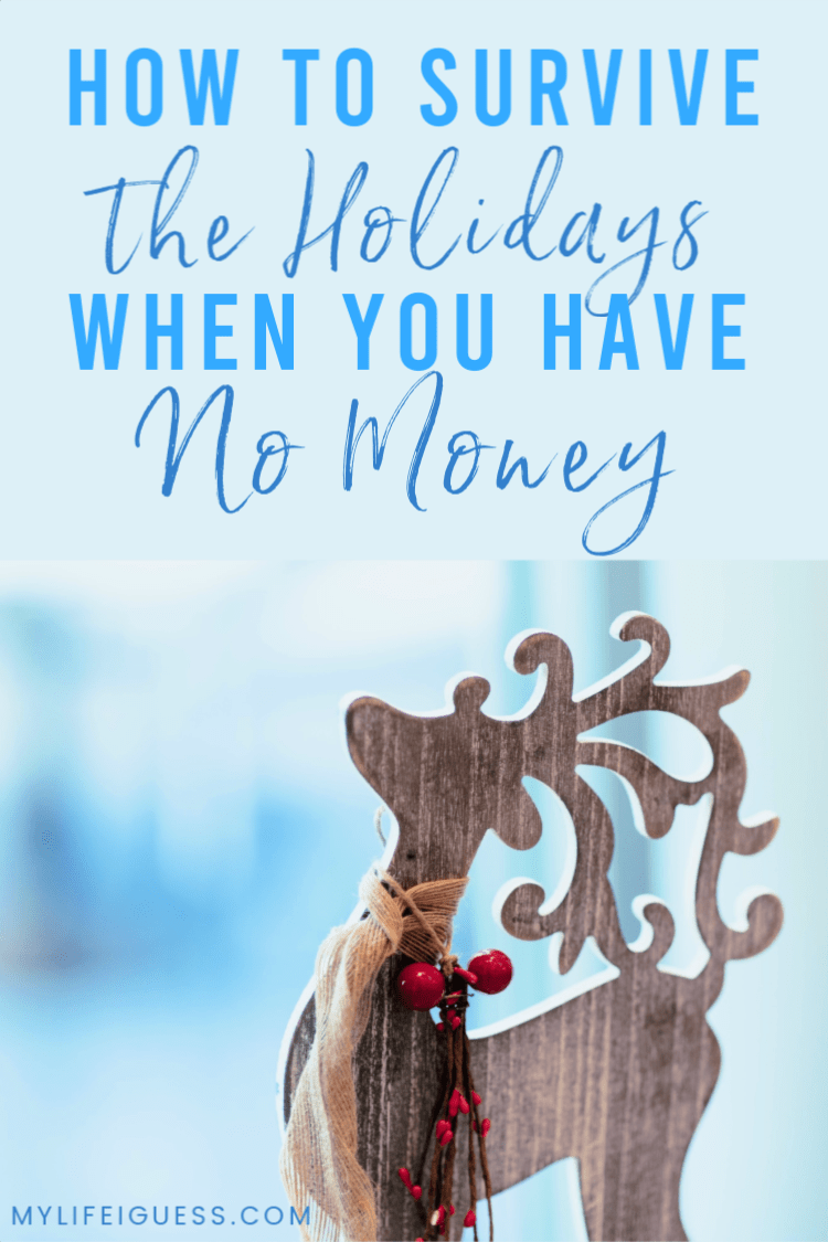 Wondering what to do when you're broke at Christmas? Here are our tips on how to survive the holidays when you have no money. It can get awkward and depressing quickly, we'll help you navigate the minefield so you can enjoy the holidays.