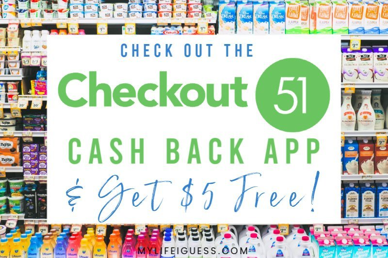 Check Out the Checkout 51 Cash Back App And Get $5 Free!