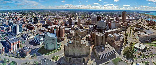 Aerial Photo of Buffalo NY
