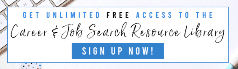 Sign up and get free access to the Resource Library!