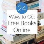 24 Ways to Get Free Books Online in 2020