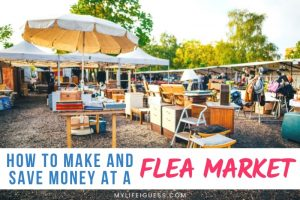 How to Make and Save Money at a Flea Market