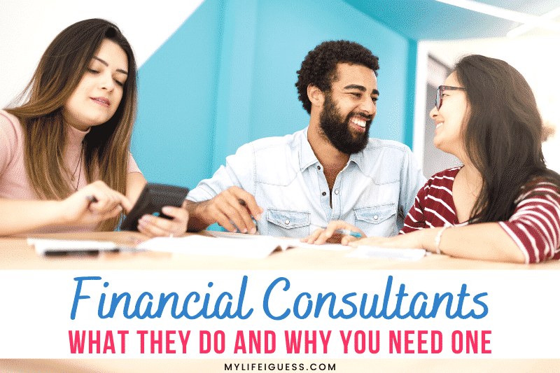 a couple meeting with a Financial Consultant